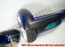Carbon Fiber Sticker kit for Self Balancing Hover Board IO Hawk skin decal wrap