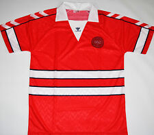 1988-1990 DENMARK HUMMEL HOME FOOTBALL SHIRT (SIZE L)