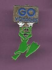 Pin's pin GRENOUILLE FROG GO VOYAGES