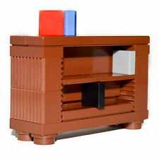 LEGO® Custom Furniture Set:  Book Case in Brown  ::  with Instructions & Parts