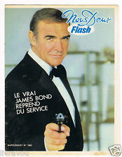 ▬► Flash Nous Deux 1900 de 1983 Sean Connery_Pascale Petit_Georges Guétary