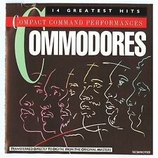 Compact Command Performances by Commodores (CD, Motown Records)