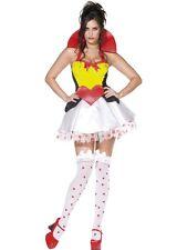 Sexy Fever Queen Of Hearts Costume SALE * UK XS 4/6 Ladies Fancy Dress