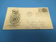 First Day Cover, Salute to Search for Peace, Lions International, 1967, FDC
