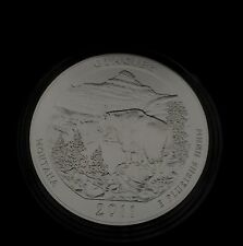 2011 P 5 OZ Glacier ATB America the Beautiful Box Sleeve and COA