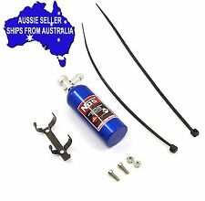 NOS - BLUE nitrous bottle weight w/decals for 1:10 RC may fit Axial Tamiya Gmade