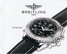 BREITLING INTRUDER ANLEITUNG INSTRUCTIONS I506