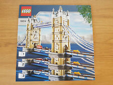 LEGO SCULPTURES - 10214 Tower Bridge - INSTRUCTION MANUAL ONLY