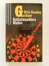 Erle Stanley Gardner Schlafwandlers Nichte Roman Scherz Krimi Perry Mason