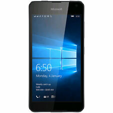 NEW MICROSOFT LUMIA 650 UNLOCKED SMARTPHONE DUAL SIM RM-1154 16GB - BLACK