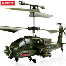 Syma S109G Simulation Military RC Helicopter 3.5CH Remote Control RC  With Gyro