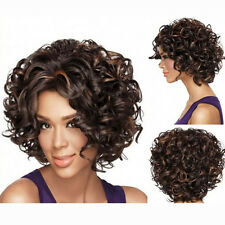 Women New Fashion Sexy Short Curly Lace Front Wigs Virgin Human Hair Curly Wigs