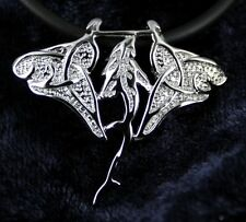 Solid 925 Sterling Silver Manta Ray Shark Sealife Ocean Diver Pendant Necklace