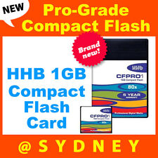 Brand NEW HHB  1GB 80x Pro-Grade Compact Flash Card | CompactFlash