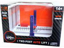 TWO POST AUTO LIFT FOR 1/24 DIECAST MODEL CAR