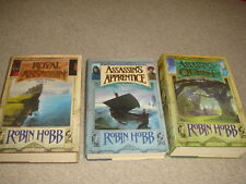 Robin Hobb FARSEER TRILOGY 1/1 HBDJ Assassin's Quest; Royal Assassin; Apprentice