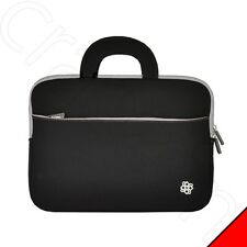 Black Neoprene Laptop Sleeve Case Bag for Motorola Atrix 2 Lapdock