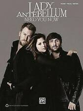 Lady Antebellum: Need You Now by Alfred Publishing Co., Inc. (Paperback) NEW