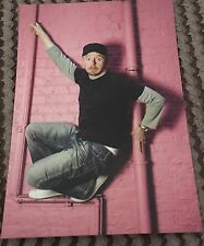 Simon Pegg Promotional Postcard (photo By Richard Saker)