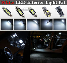 Canbus LED Car Interior Light Bulbs Package Kit For Audi A6 C5 Allroad -- White