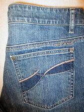 DKNY Ludlow Stretch Straight Womens Blue Denim Jeans Size 10 x 28  KCMU8109