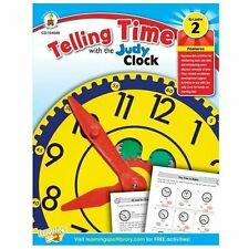 Telling Time With the Judy Clock, Grade 2 By Carson-Dellosa Publishing Compan...