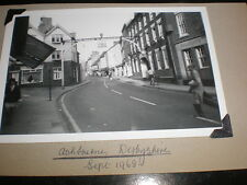 Old amateur photograph Ashbourne Derbyshire 1968