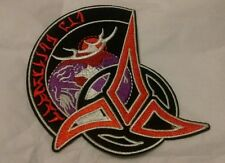Embroidered Star Trek Klingon Emblem Iron On Patch