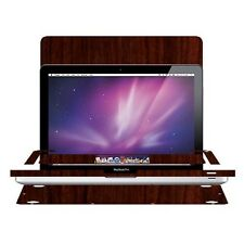 Skinomi Dark Wood Skin for Apple Macbook Pro 17 in. (2009-2011)