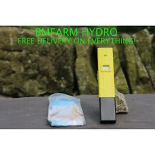 PH Control Pen  Calibration Fluid  Hydroponics Aquarium Plants PH Testing Hydro
