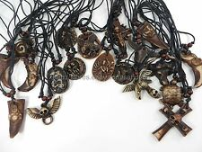 US Seller - 20 pieces hippie gothic rock necklaces wholesale fashion choker