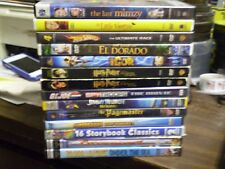 (32) Childrens Adventure DVD Lot: (2) Harry Potter Igor  GI Joe Hot Wheels Mulan