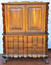 Cheminais Stinkwood South Africa EXTREMELY RARE Antique Original cabinet from