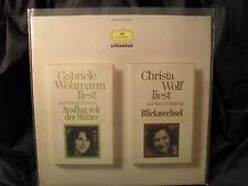 Gabriele Wohmann & Christa Wolf lesen...
