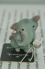 GRAY ELEPHANT MERRY MINIATURES HALLMARK~NEW COLLECTION~SMALL~FREE SHIP IN US