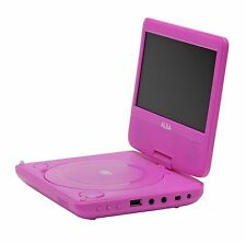 New Alba 7 Inch Portable DVD Player - Pink Excellent Gift.