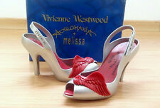 NIB Vivienne Westwood Anglomania + Melissa Lady Dragon Wing Shoes US 7 EUR 38