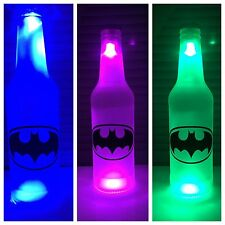 Batman  LED Bottle Light, Pub Bar Neon Man Cave Sign DC Comics