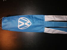 "VW HEART 60"" LONG WINDSOCK, WITH COORDINATING TASSLES WITH 2 FREE VW HAND FLAGS"