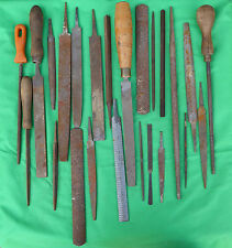 24 x Vintage Rasps Metal Rasp File Woodworking Garage Tools
