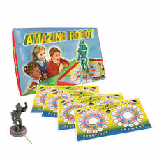 NEW AMAZING MAGICAL ROBOT TRADITIONAL RETRO 1950's QUIZ BOARD GAME HOM