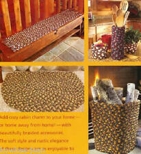 Rustic Cabin Braid Craft: instructions for braiding rugs, placemat, baskets
