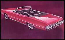 1969 Chrysler Brochure, New Yorker 300 Newport, Original