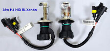 35W H4 5000K High Low Beam HID Bi-Xenon H4-3 Hi-Lo Replacement Bulbs white Light
