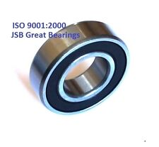 (Qty 2) 6204-2RS two side rubber seals bearing 6204 rs ball bearings 6204rs