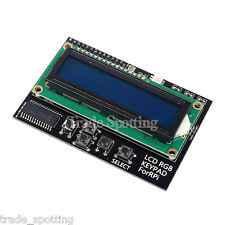 SainSmart I2C IIC Interface RGB LED Screen LCD 1602 + Keypad  For Raspberry Pi