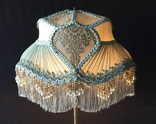 Victorian Lampshade- Sea foam Green