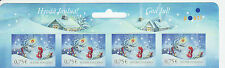 Finland 2014 MNH - Christmas - top row of sheet - 4 stamps