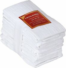 Utopia Kitchen 12 Pack Flour-Sack-Towels,28 x 28-Inches