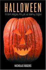 Halloween: From Pagan Ritual to Party Night-ExLibrary